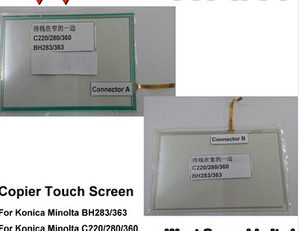 Compatible Konica Minolta Bh-283 Bh363 C220 C280 C360 Touch Screen