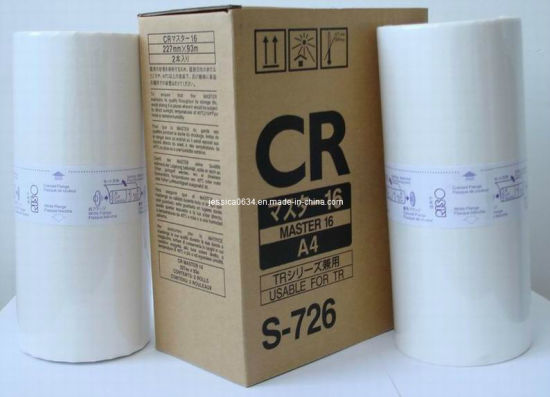 Compatible Cr/Tr Duplicator Master ((A4/B4)) for Use in Riso Duplicator