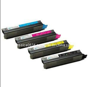 Color Toner Cartridge for Oki 3100 Used for Oki 3100